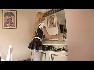 This maid is too sexy to work
