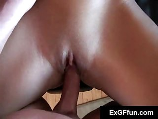 Uptight sexy slut fucking hard in pov