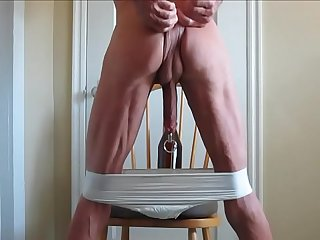 Big In the Penis and Ass With Panties Pulled Down