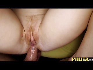 POV of Blonde Slut Ex-GF Getting Fucked In The Ass