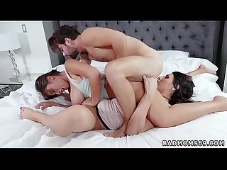 Big natural tits milf orgy Family love triangle