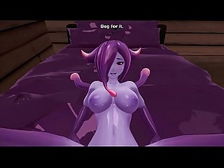 Monster Girl Island. Eris The Demon Slime Rebuilded Scene