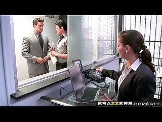 Brazzers big tits at work the man cums around scene starring nikita von james and ramon