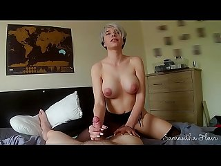 Lesbian takes first real cock POV - Samantha Flair
