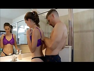 Stepdaughter getting ready for college watch more vidz like this at fxvidz net