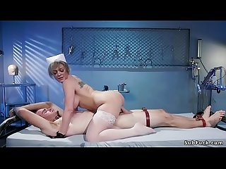 Huge tits Milf nurse banging man patient