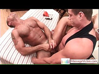 John gets hardcore massage 5 by massagevictim