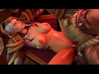 3d toon milf has sex orgasm with three orcs www 3dplay me Cartoon 3d