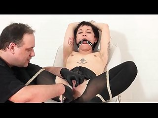 Extreme asian medical fetish and hardcore piercing bdsm of japanese slaveslut Me