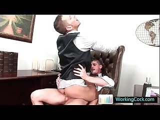 Shane does some serious gay dick sucking and fucking by workingcock