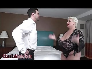 Huge Tit Whore Claudia Marie Fucked Hard