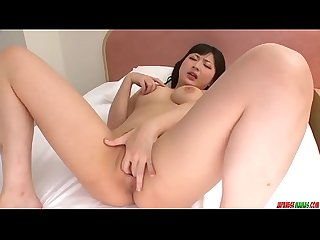 Megumi haruka finger fucking solo play at home more at japanesemamas com