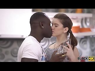 BLACK4K. Very huge dick of black lover makes white teen happy