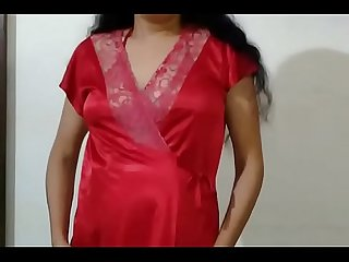 Desi Indian Bhabhi erotic striptease show