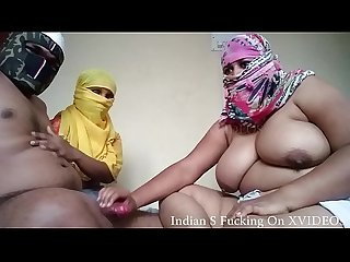 Asian two Anal Indian Aunty S share a hard cock