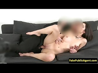 Auditioning amateur fucked on casting couch