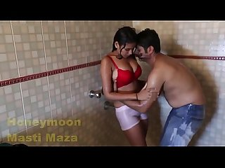 Inclip net sunny leone big boobs hot bhabhi bathing in bathroom