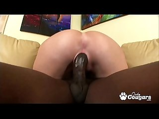 Pornstar Sara Jay Drains Another Big Black Cock
