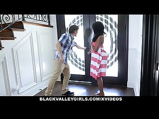 BlackValleyGirls - Peeping Tom Fucked By Cute Black Teen