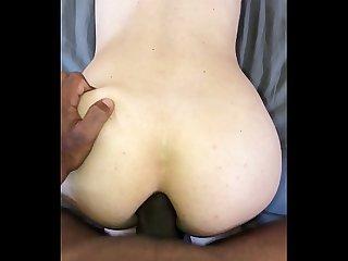 Hot anal amateur big cock