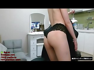 Korean bj smokes and masturbates live at livekojas com