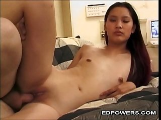 Asian Teen Enjoying Ed Powers Anal Fucked