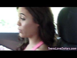 Broke teen facialized pov