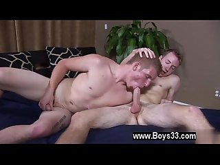 Gay cute sex three times before leisurely drawing his fuck stick all