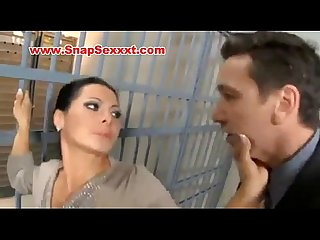 French brunette fucked in jail