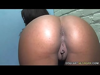 Megan Vaughn Broke Her White Cock Virginity Via The Gloryhole