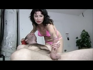 Hot mature asian jerks big cock