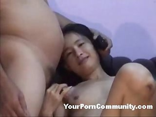 Asian amateur couple