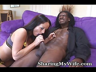 Enjoying her open relationship