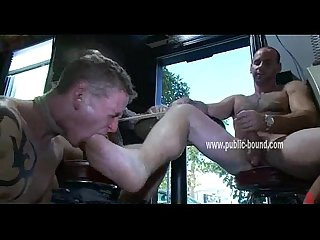 Sexy gay hunks group sex humiliation