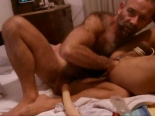 Fisting and double dildo boy feb2015