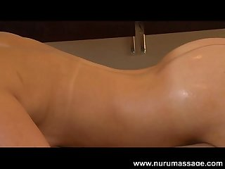Destiny jaymes nuru massage