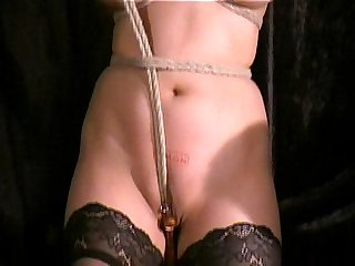 Cruel Asian Pussy Bondage and Forced Orgasm