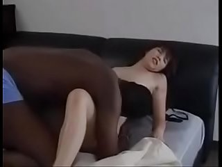 Japanese milf gets her first bbc