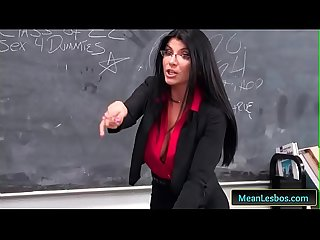 Hot and Mean - Punishable Behavior with Giselle Palmer & Romi Rain free clip-01