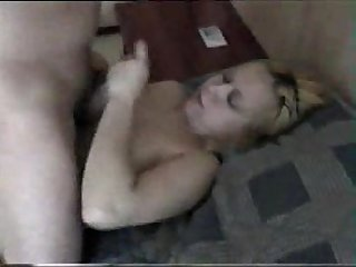 Amateur blow job