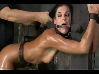 Tied up and fucked hard more on 666naughtycam tk