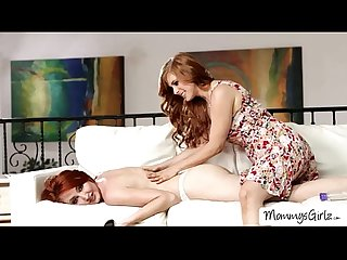 Scandalous redhead Kendra and Veronica attempt new lesbian fun