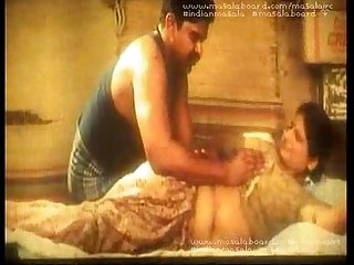 Aunty oil massage
