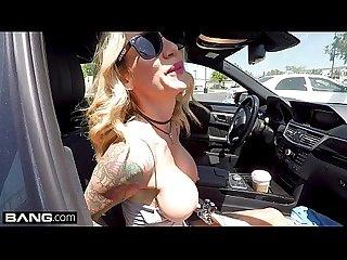 Real milfs milf sarah jessie gets cum on her big tits