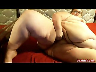 Watch at me bbw milf with sexy glasses comma masturbating my fat pussy excl