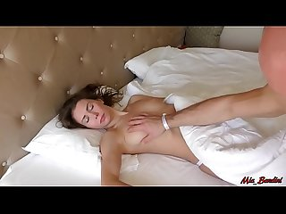 Sleeping beauty wakes up from the dick in her mouth period mia bandini