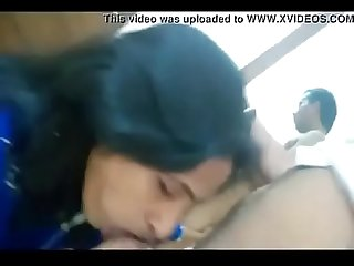 Desi hot married employee gives bj to boss