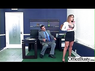Hard Sex Tape In Office With Big Round Tits Sexy Girl (Layla London) video-18