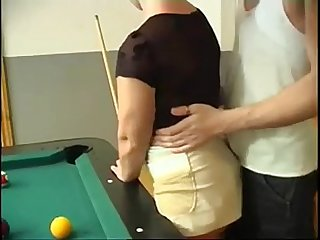 Milf anal fuck after billiards continue with her sweetmilfcams com