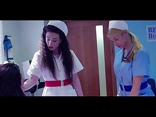 Nurse fucks patient in hospital room (amazing classy Lesbian scene) / Nurse Casey..